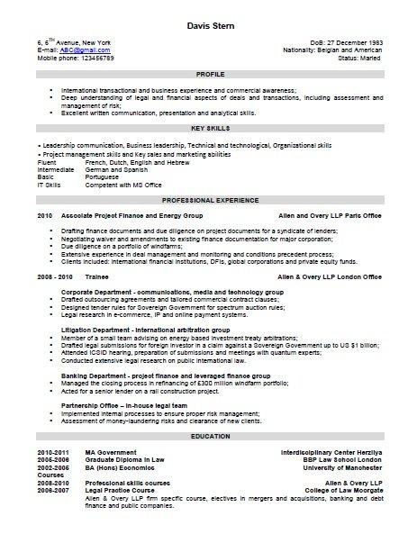 97 New Interview Resume Format for Images