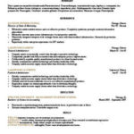 98 Awesome Job Resume Template for Pics