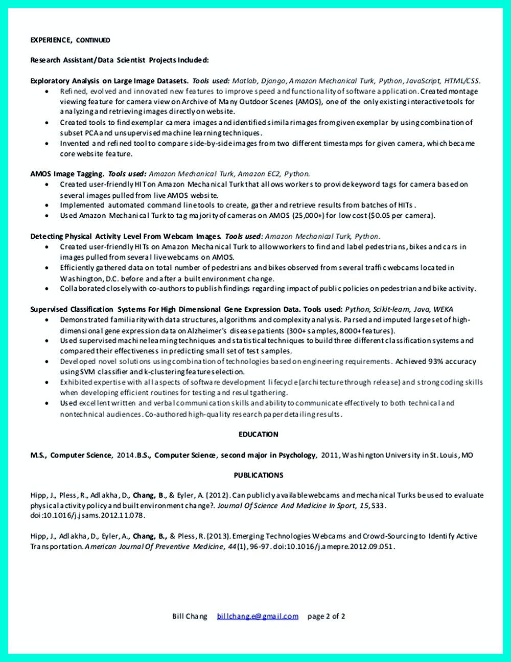 98 Best Entry Level Data Scientist Resume with Images