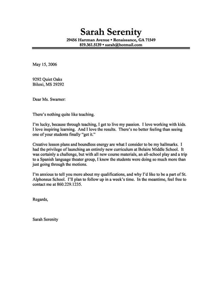 98 Excellent Free Cover Letter Examples by Ideas