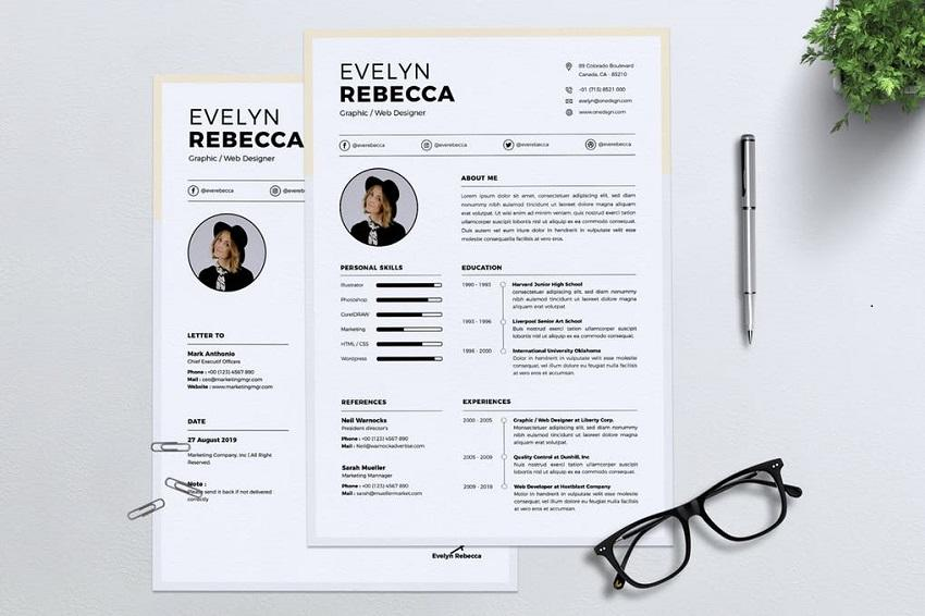 98 Great Good Resume Layout by Pictures
