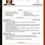98 Inspirational Updated Resume Format for Gallery