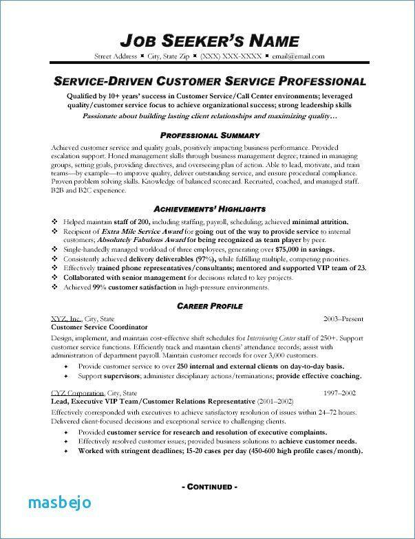 98 Nice Customer Service Resume Objective Or Summary Examples by Pictures