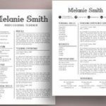 99 Awesome Teacher Resume Template with Graphics
