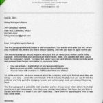99 Best How To Type A Cover Letter by Images