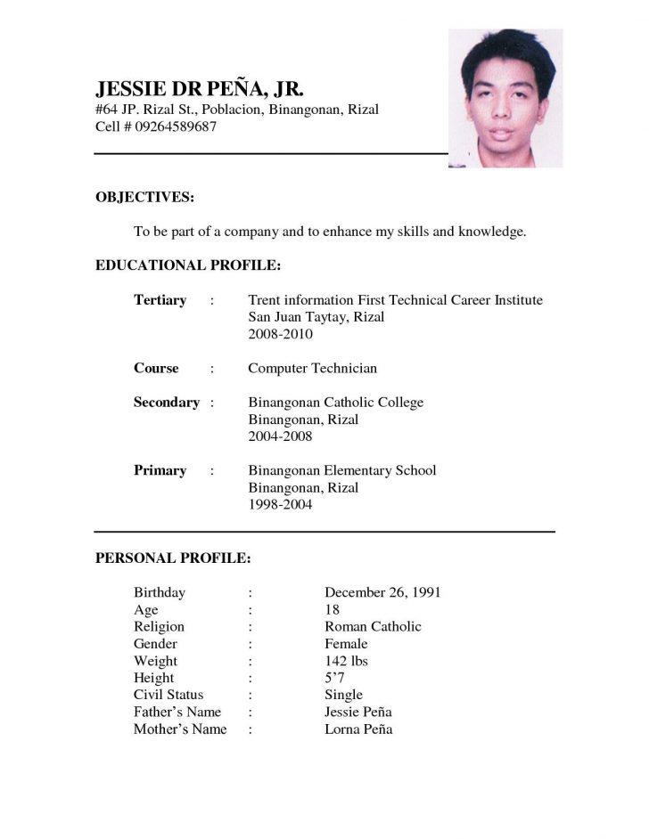 99 Cool Interview Resume Format with Ideas