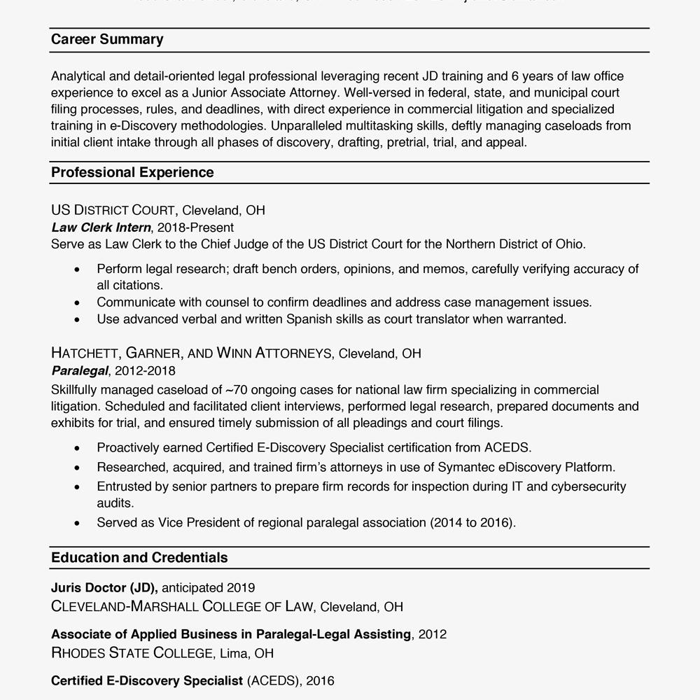 99 Inspirational Resume Format Examples with Graphics