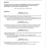 99 New Job Resume Template for Pictures